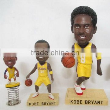 basketball player plastic bobbleead figure,customized plastic bobblehead,pvc custom made bobblehead