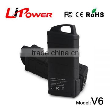 on promotion 12000mAh 12v lithium car starter battery easy start car battery charger with car charger