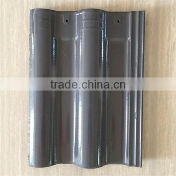 Hot sale interlocking clay roof tile for sale, discount glazed roofing material