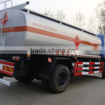3300 gallon Dongfeng 4x2 190hp oil transport truck