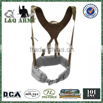 Tatical strap belt military harness