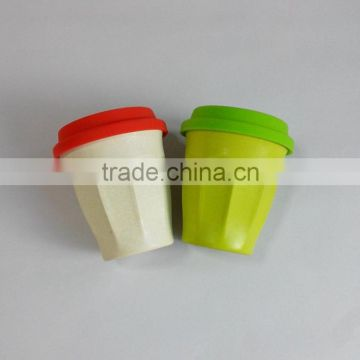 Eco Bamboo Fiber Cup with Lid