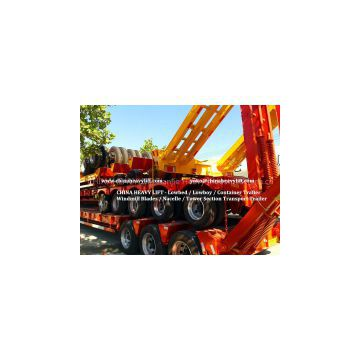 CHINA HEAVY LIFT - Two Line Four Axle Lowbed Trailer