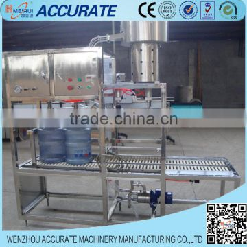 Semi automatic 5 gallon bucket water filling machine
