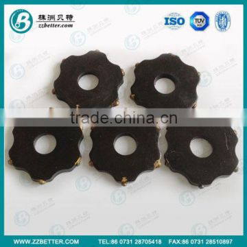 carbide tungsten tip scarifying cutter for HWS200 push mold