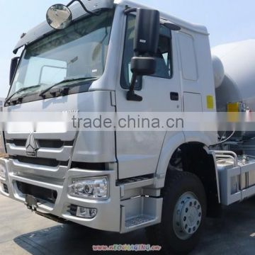 China16 cubic white mixer truck