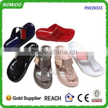 Latest Jelly PVC casual shoes Style girl sandals