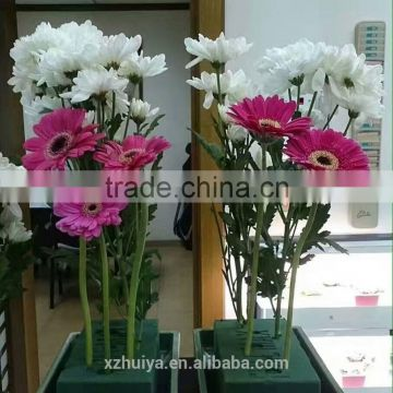 2017 popular wet floral foam for fresh flower decoration