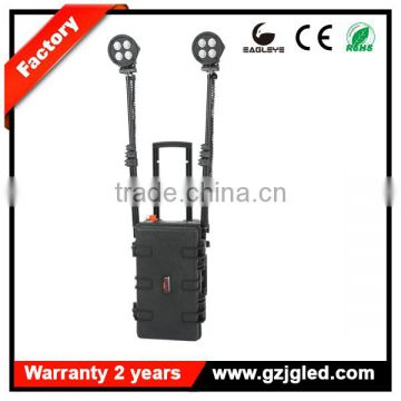 guangzhou portable power source large area portable heavy duty rechargeable searchlight construction lighting stand