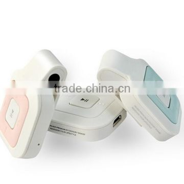 Newest headset wireless portable high quality bluetooth headphone supports 2 phones connection
