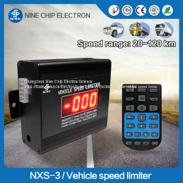 Electronic vehicle/car/mini car/lorry speed limit device
