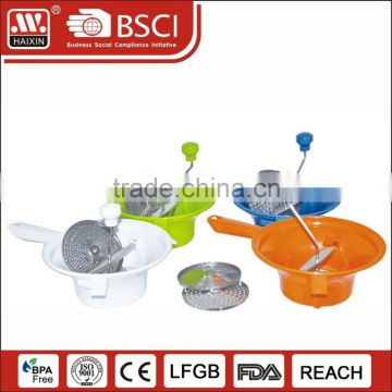 Useful multifunctional food grade manual vegetable grinder chopper for Christmas