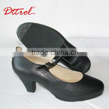 Dttrol hot sell dance shoes latin women salsa shoes women high heel