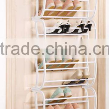 Hot sale 12 layers over door metal shoe rack                                                                         Quality Choice