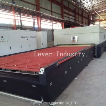 Horizontal Rollers Hearth Flat Glass Tempering Furnace