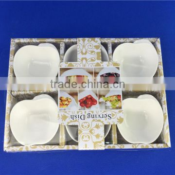 porcelain apple shaped dishes in stock