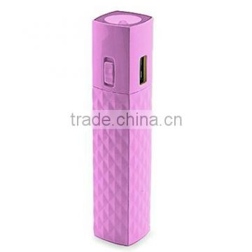 2600 mAh mini gift power bank with mascara shape design, good for promotion and life using