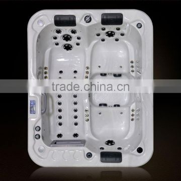 3 seats portable bathtub whirlpool A430 with TV