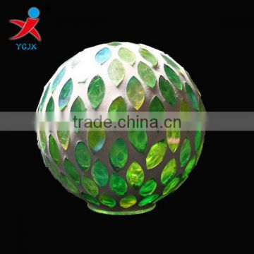 Aromatic glass products green patches Mosaic shade fine household is decorated furnishing articles/creative arts and crafts