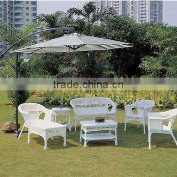 classical rattan outdoor tea/coffee table with chairs WYHS-T025
