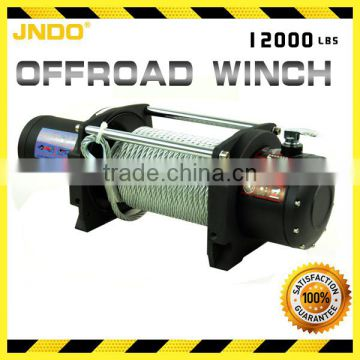 5448 kg/12000lbs offroad 4X4 winch use for tractor