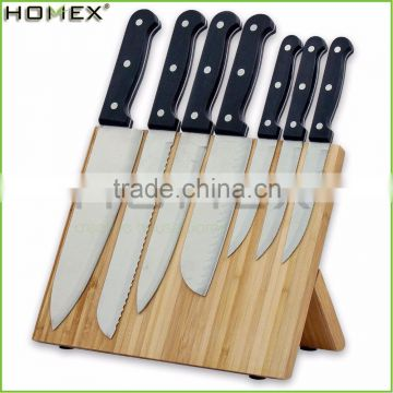 Bamboo Knife Magnetic Block Holder/Knife Display Organizer/Homex_FSC/BSCI Factory