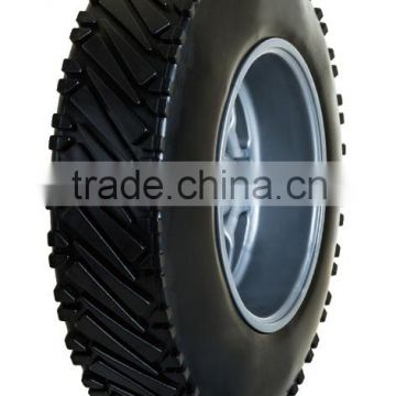 10 inch plastic wheel for hand truck, generator, garden cart