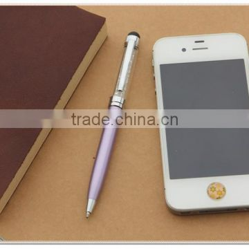 TCR-02 New design Metal Stylus pen , crystal stylus pen for ipad