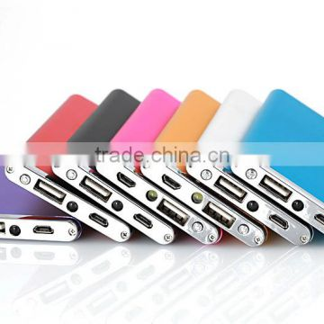 New Design Slim Super Power Bank Portable Charger