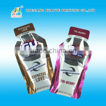 Shaped stand up pouch / durable drink pouch