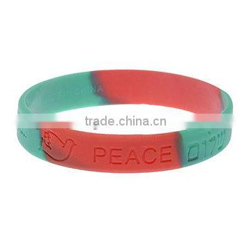 new disign Clover rubber Charm Wristband Band fashion silicone Bracelet