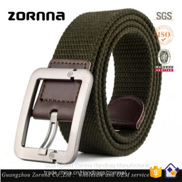 Zornna Christmas gifts wholesale stocklot women 2016 fashion canvas belt