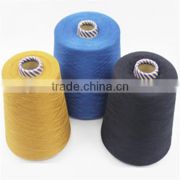 100% Silk Material and Dyed Colors Cotton Yarn