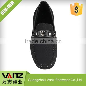 Customized OEM ODM Less Grinding PU Leather Leisure Wholesale Loafers Casual Shoes