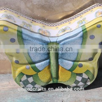 Butterfly Shape Tin Box - Storage Container
