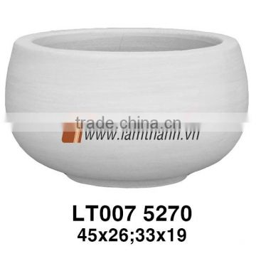 Southern Vietnam Manufacturer Mystery Decorative Fice Mikan Curves Ceramic