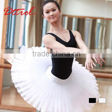 D005835 Dttrol ballet tulle pleated skirt cheap dance costumes adults