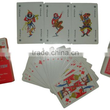 PVC CASINO POKER CARD