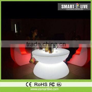 plastic glow chair for bar 169 colors for event generator light set