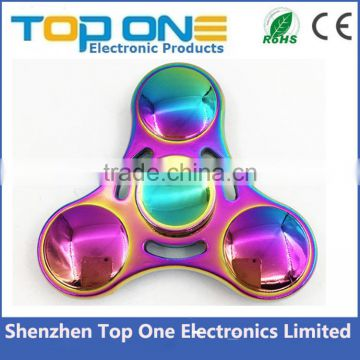 New creative design Metal Alloy spinner toy hand fidget spinner