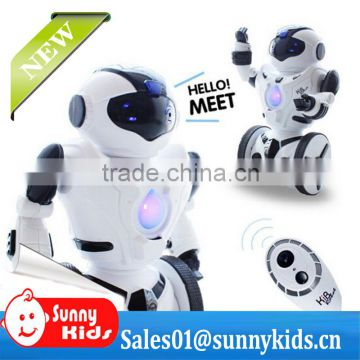 New RC robot toy 2.4G RC single wheel toy Robot