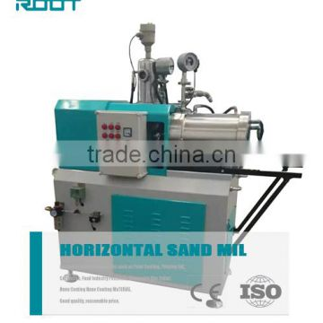 Wet Horizontal Sand Mill Machine Six Effective Volume , High Speed