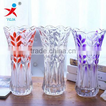 More transparent large glass vases/flower arranging flowers/contracted household decorations/furnishing articles in the living r