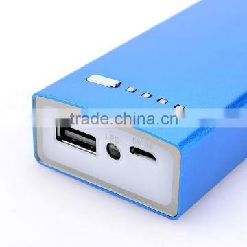 Ultrathin portable mobile charger slim move power bank 4400mah for mobile phones