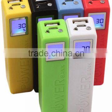 smart lighting mobile charger gift power bank with LCD display
