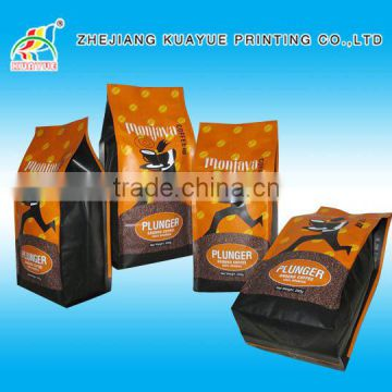 Customized Hot Sale Coffee Packaging Bags, Coffee Bag with Valve, Resealable Coffee Bag