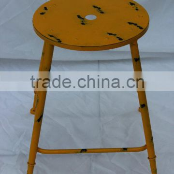 Metal chair for dining