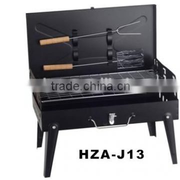 Camping barbecue grill outdoor protable charcoal bbq grill HZA-J08