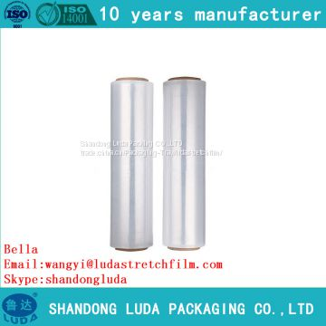 customized LLDPE packaging stretch film roll supply