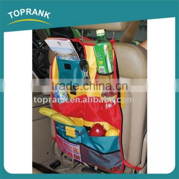 40*58CM 600D colorful hanging car back seat organizer for kids